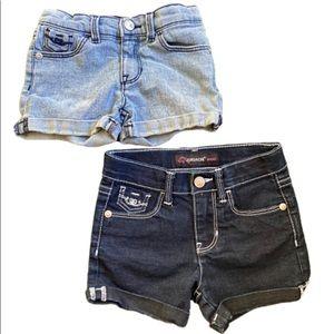 JORDACHE Girls 3T Denim Shorts